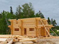 при строительстве дома использовался самый качественный материал