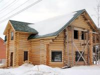 Практически законченный дом. На очереди - благоустройство территории и внутренняя отделка.