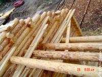 сруб дома изготавливается из карельской сосны
