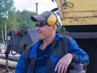 Антон Поморов - плотник-инструктор