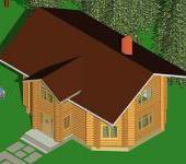 восьмиугольный дом